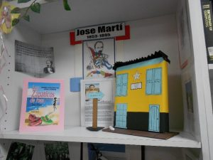 FNU Library Jose Marti Book Display