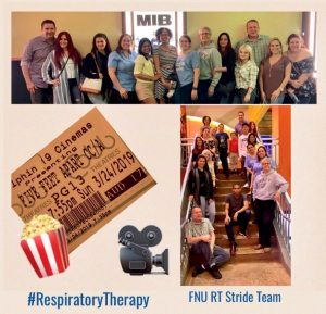 Respiratory Therapy group photo