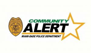 Miami Dade Community Alert Police Department Logo
