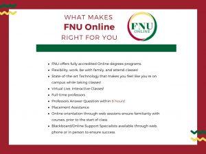 FNU online benefits