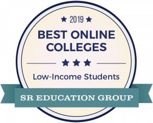 Best College for Online Programs Badge