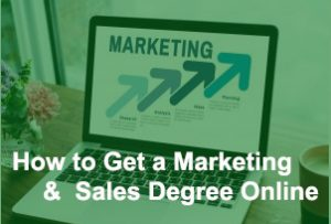 marketing and sales online degree