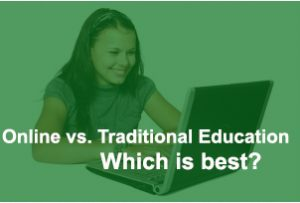 online vs traditional education