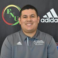 FNU Volleyball Head Coach Carlos Huaroto-Luque Head-shot Picture