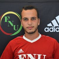 FNU Men's Soccer Player Arthur Barbosa