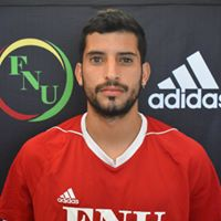 FNU Men's Soccer Player Benjamin Zamora