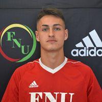 FNU Men's Soccer Player Facundo Alonso