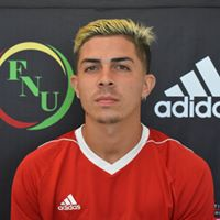 FNU Men's Soccer Player George Perez