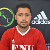 FNU Men's Soccer Player Jesus Caballero