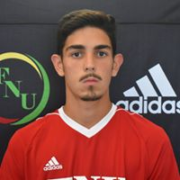 FNU Men's Soccer Player Martin Marijuan