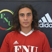 FNU Men's Soccer Player Pedro Navarro