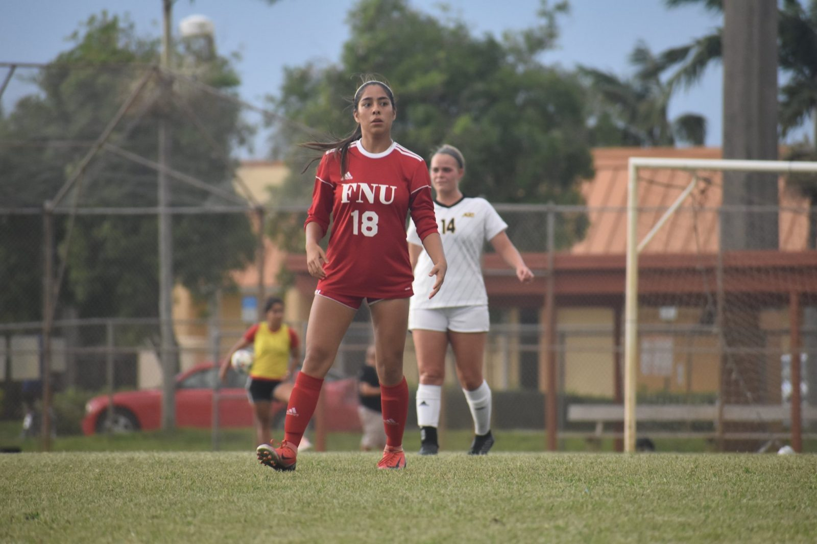 FNU Soccer player Walking on the field