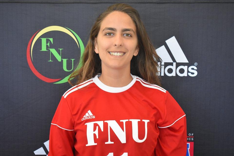 FNU Women's soccer player Bethania Cruz