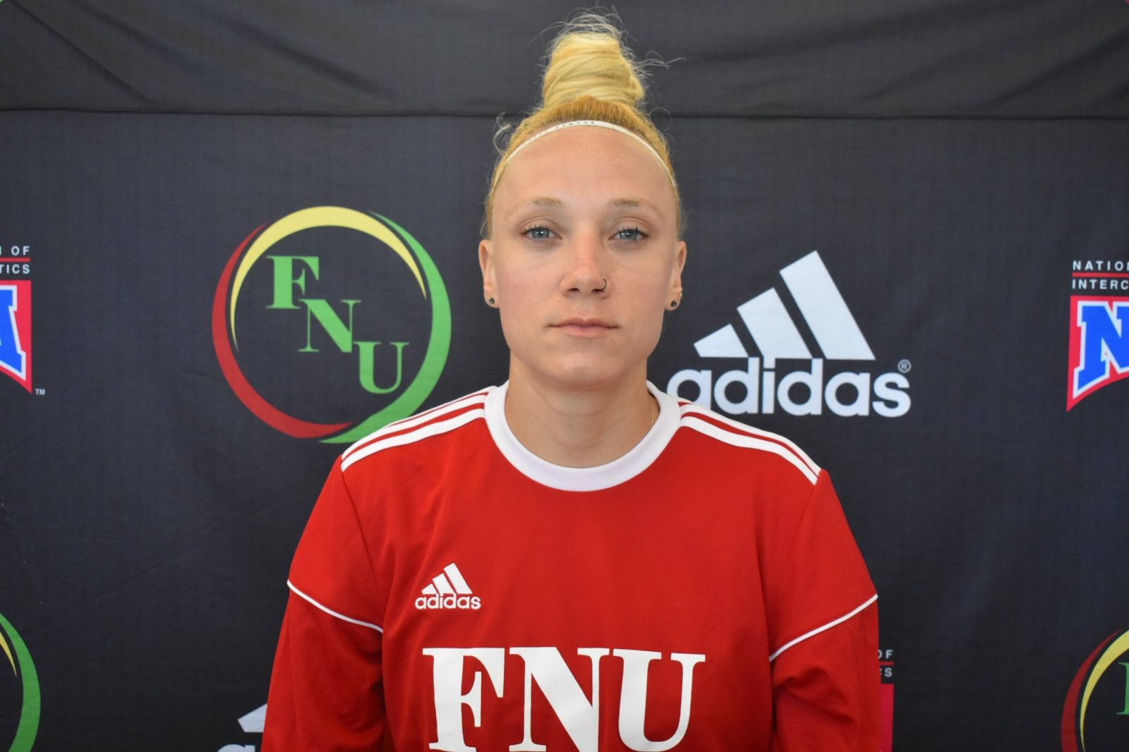 FNU Women's soccer player Jurema Borini