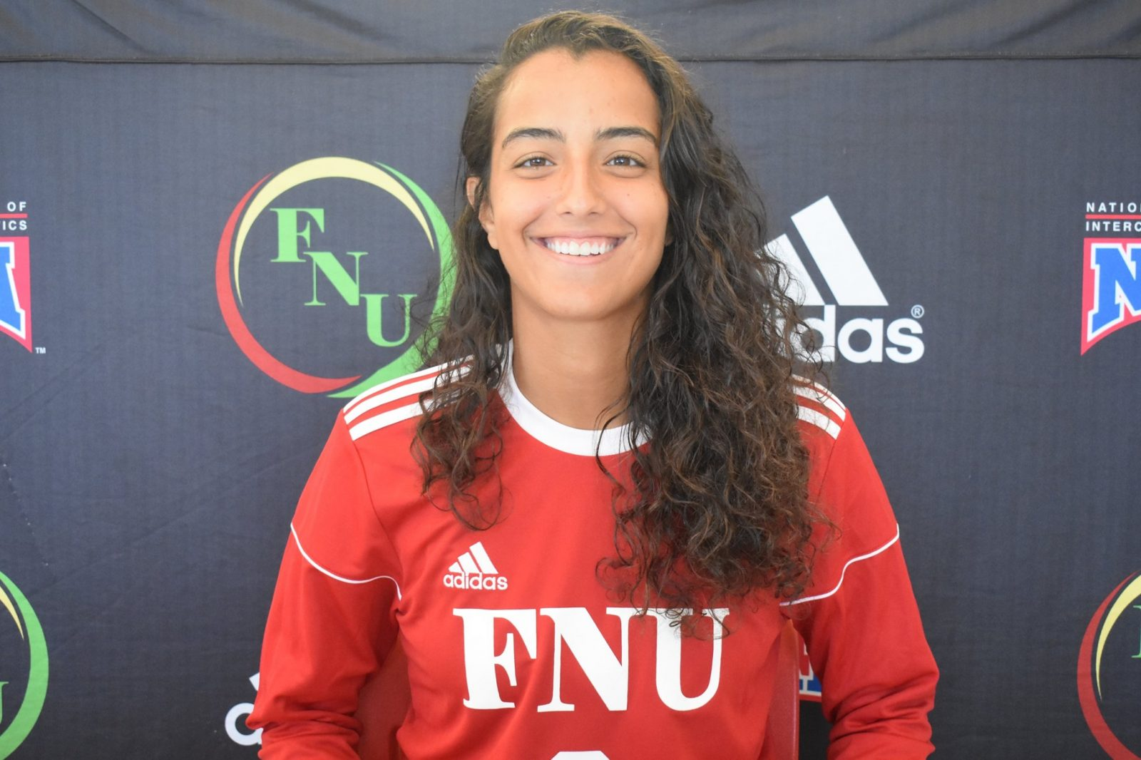 FNU Women's soccer player Lais Marques Falcao