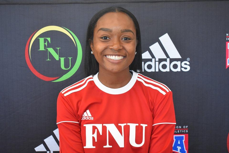 FNU Women's soccer player Lizabeth Z Ardanal