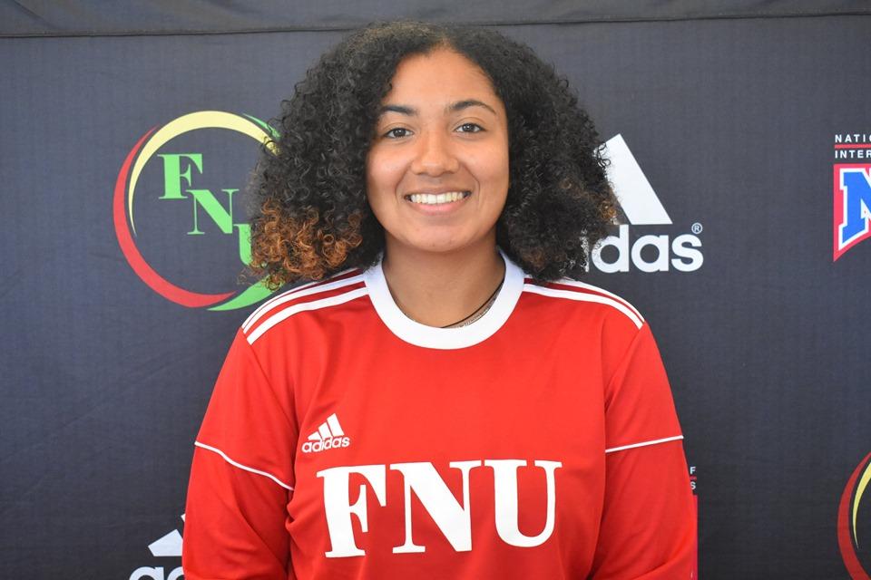 FNU Women's soccer player Tatiana Hernandez