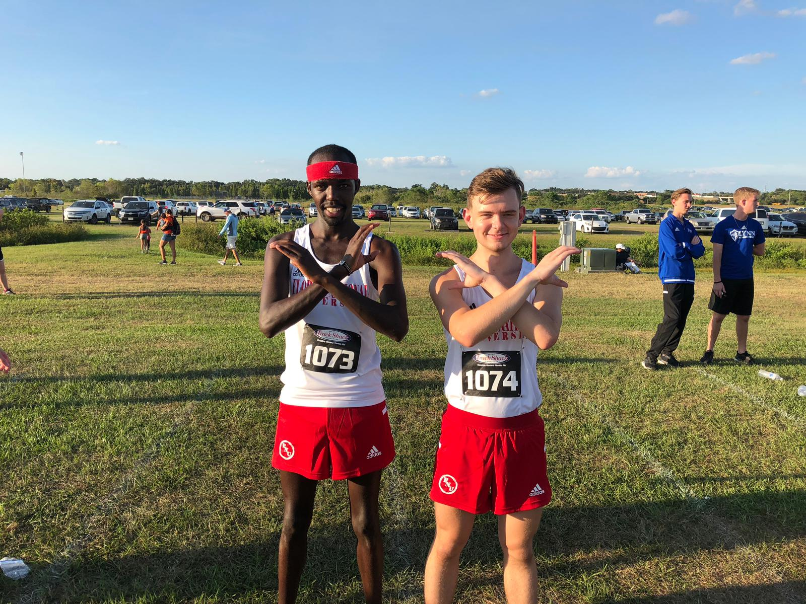 Florida National University men's Cross Country Runners