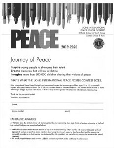 Journey of peace contest 2