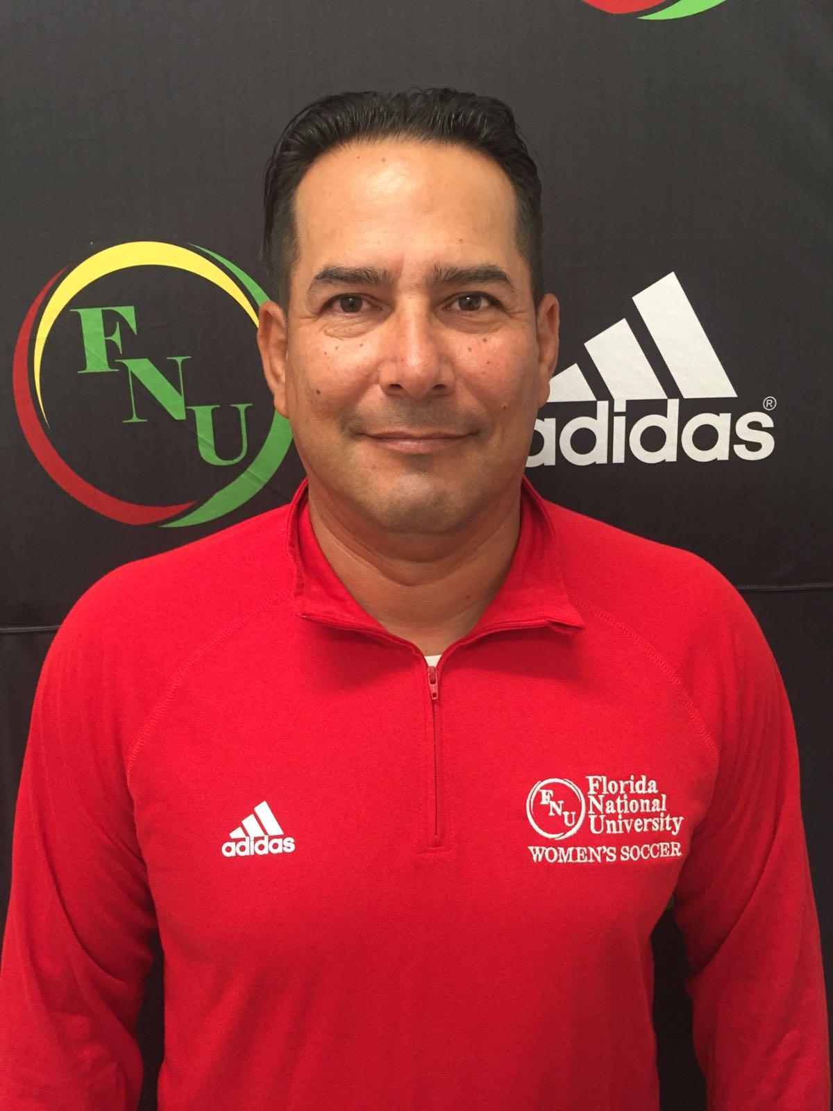 FNU Women's Soccer Head Coach Giovanni De La Rosa