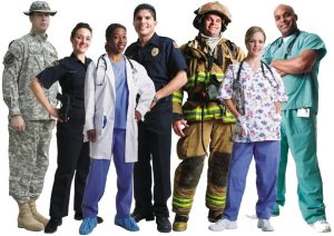 picture of all first responders