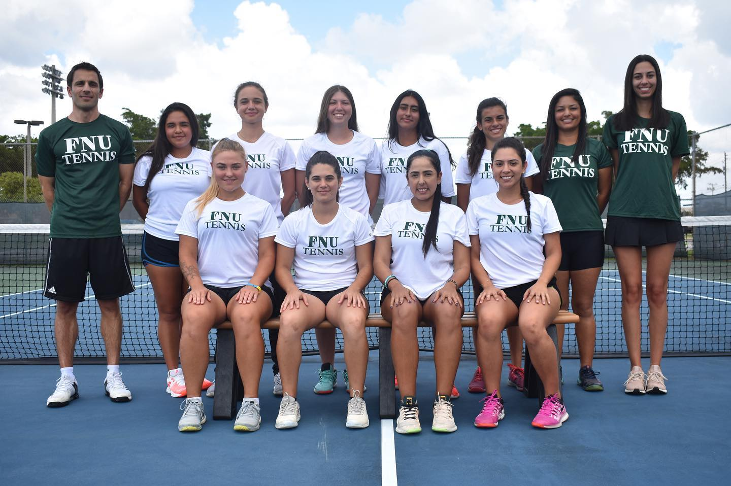 FNU Women's tennis team picture