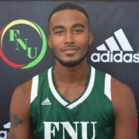 FNU Men's Basketball Player Jaquan Robertson