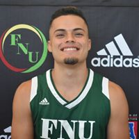 FNU Men's Basketball Player Kenneth Santos
