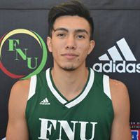 FNU Men's Basketball Player Nico Rojas