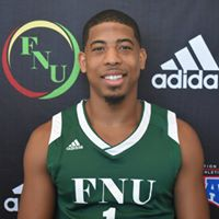 FNU Men's Basketball Player Thomas Dillion