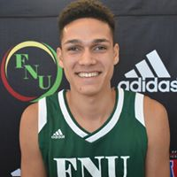 FNU Men's Basketball Player Yamil Diaz