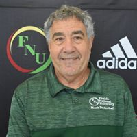 FNU Men's basketball Coach Bob Starkman