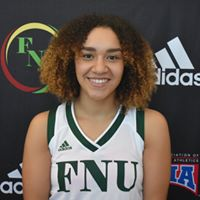 FNU Women's Basketball Player Adria Stewart