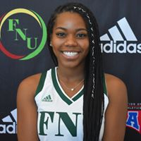 FNU Women's Basketball Player Ashley Williams