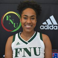 FNU Women's Basketball Player Brandilyn Robertson