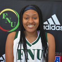 FNU Women's Basketball Player Breyuna Walker