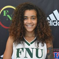 FNU Women's Basketball Player Brianna Richardson