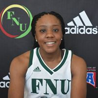 FNU Women's Basketball Player Destiny Lindsey