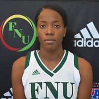 FNU Women's Basketball Player Tyra Kirlew