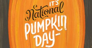october 26 national pumpkin day