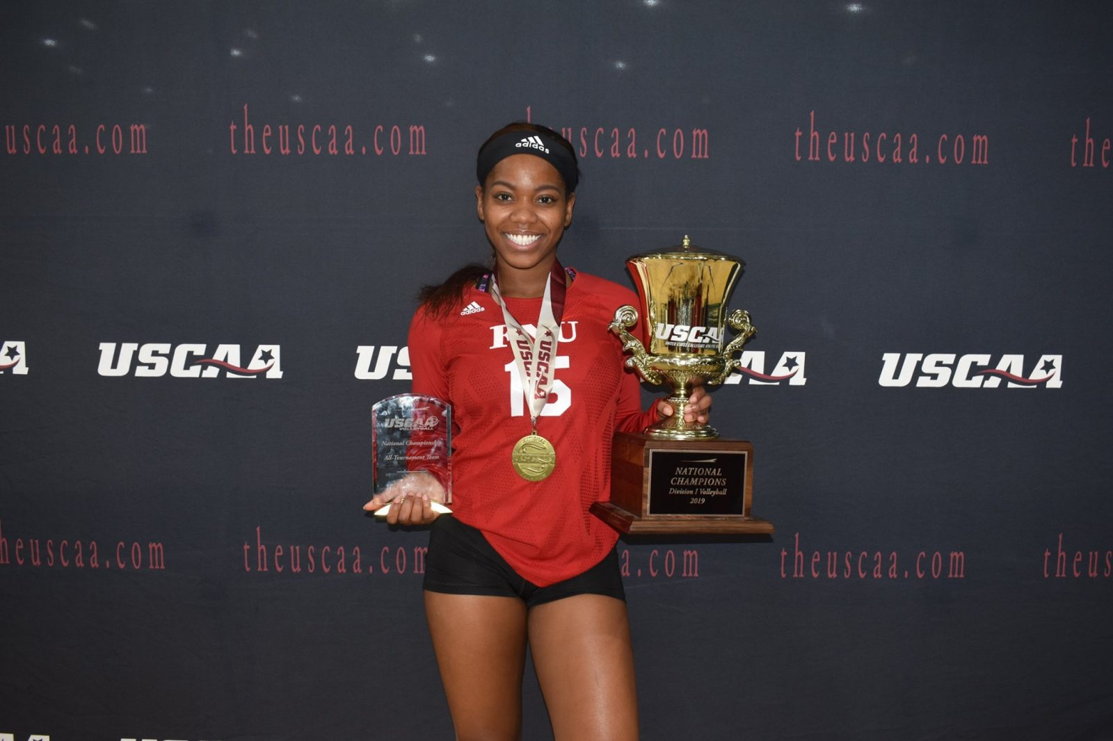 Ashley Williams Volleyball player with the awards received
