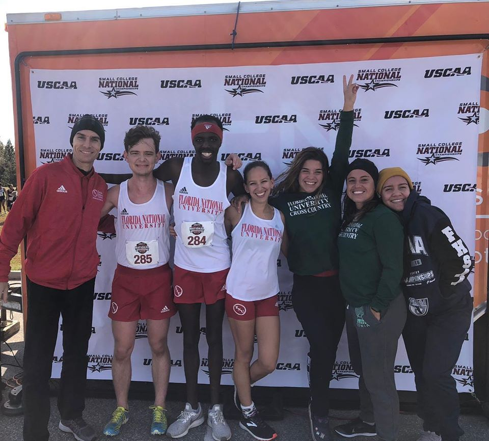 Cross Country team at Nationals