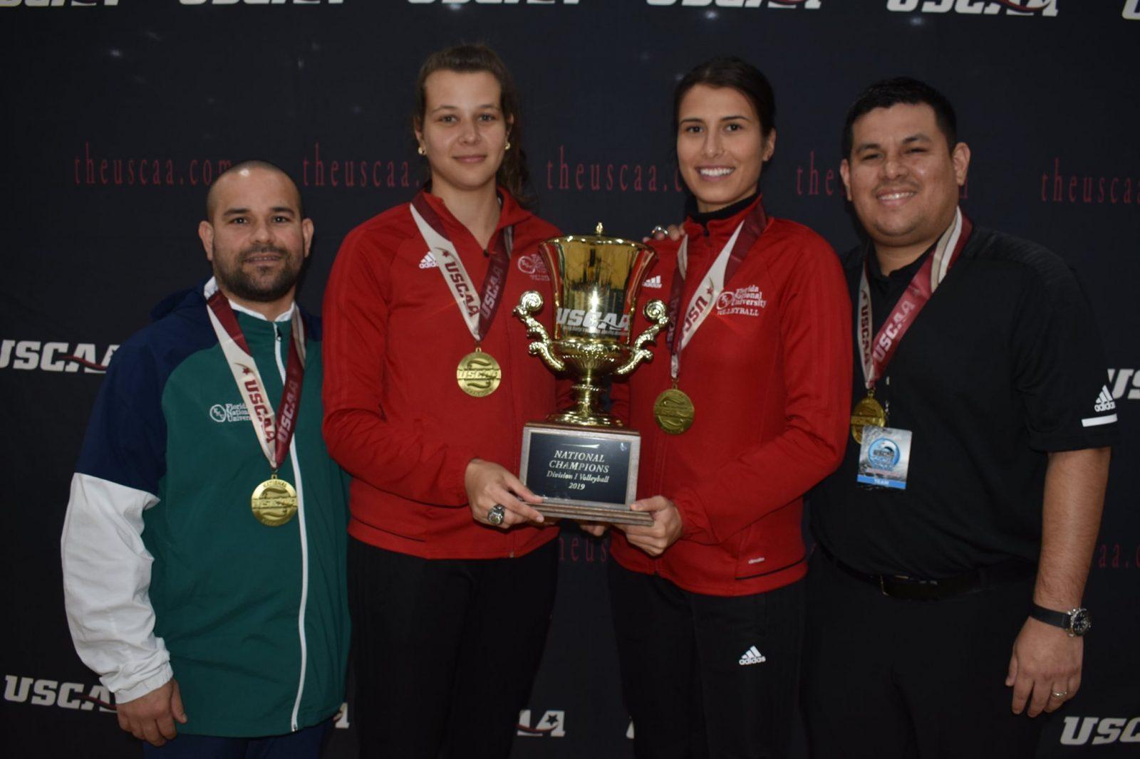 FNU Women's Volleyball Coaching Staff