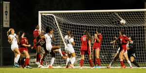 FNU women's soccer player against Lynn University