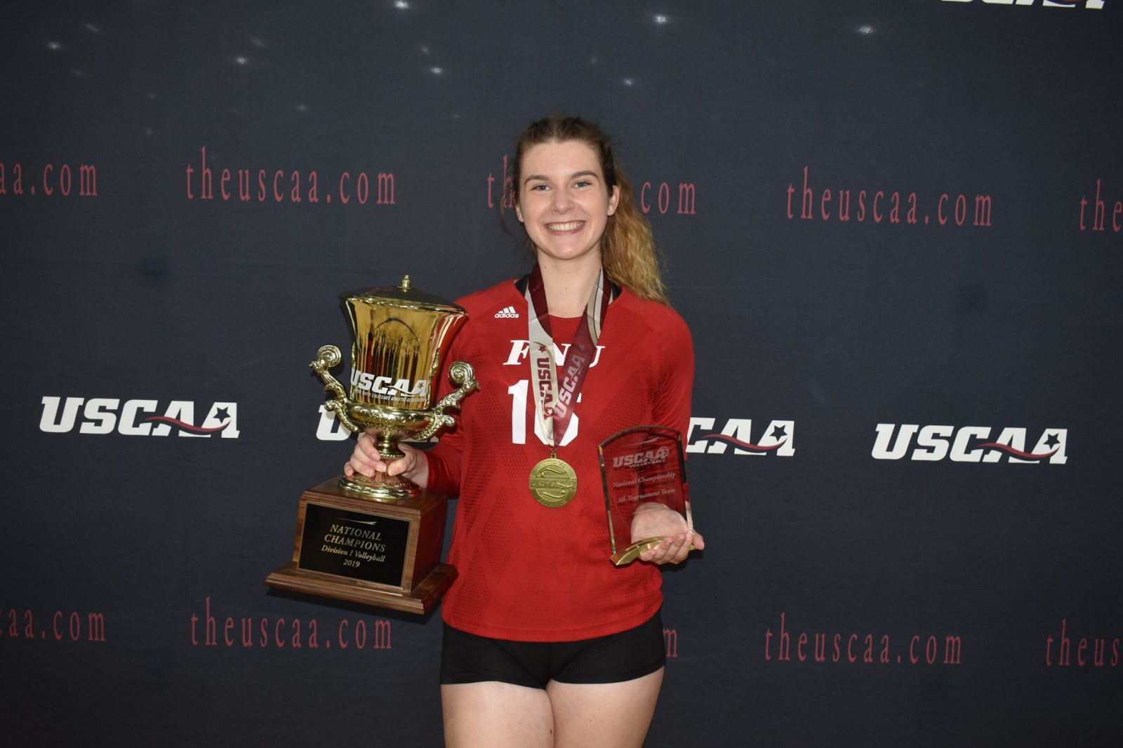Maya Krapf Volleyball player with the awards received