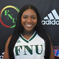FNU Women's Basketball Player Shikinah Williams