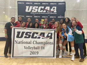 FNU Women's Volleyball team National Champions
