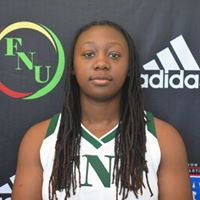 FNU Women's Basketball Player Deandra Akins