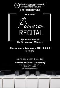 piano recital flyer