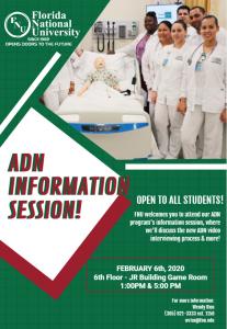 adn info session